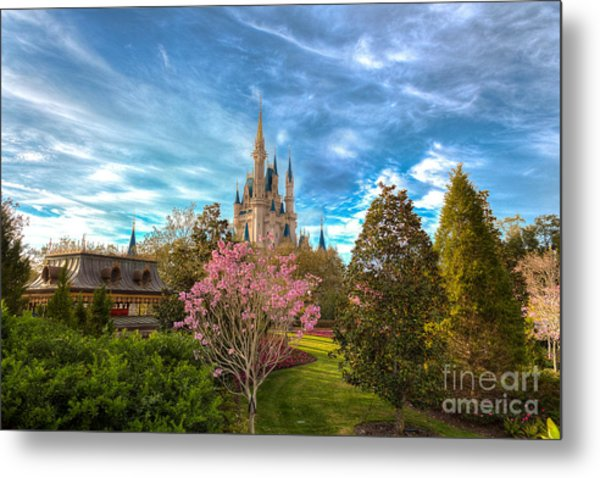 A Quiet Countryside Metal Print