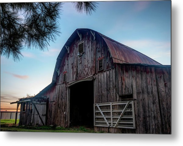 A Relic Of The Past - Old Barn Photography Metal Print by Gregory Ballos
