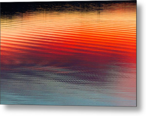A Resplendent Reflection Metal Print