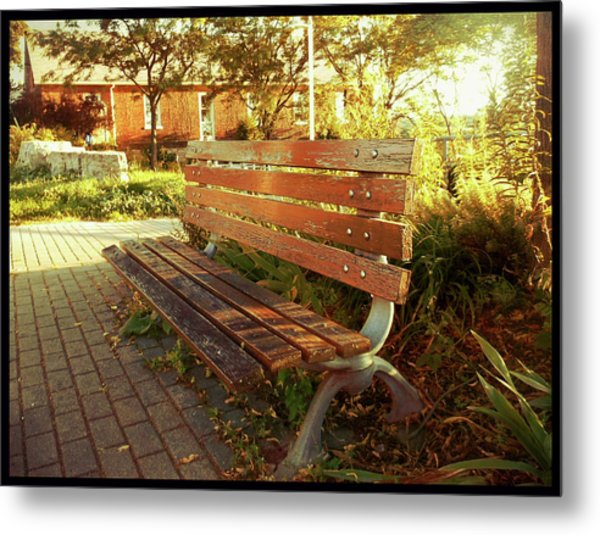 Metal Print featuring the photograph A Restful Respite by Shawn Dall
