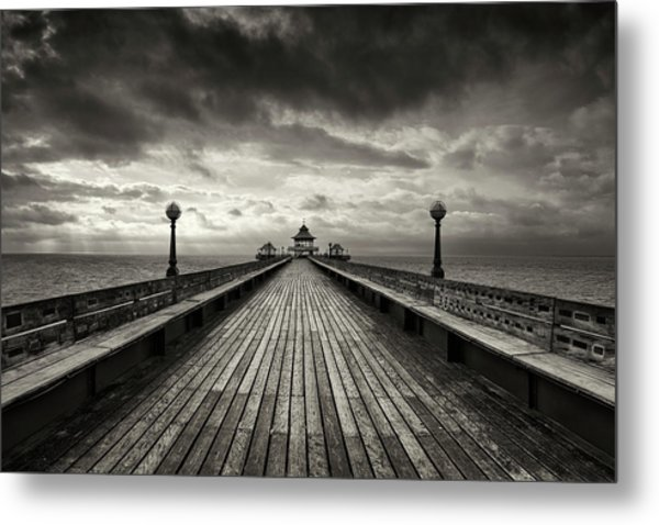 A Romantic Walk To The Past Metal Print