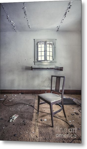 A Room For Thought Metal Print