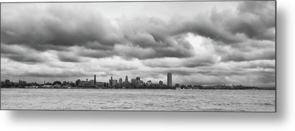 A Rotten Day In Buffalo  9230 Metal Print