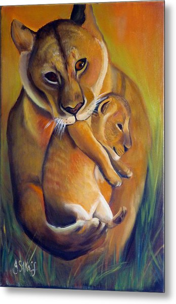 A Safer Place Metal Print by Janet Silkoff