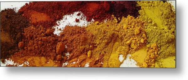 A Sandbox For Artists Metal Print by Terrance DePietro