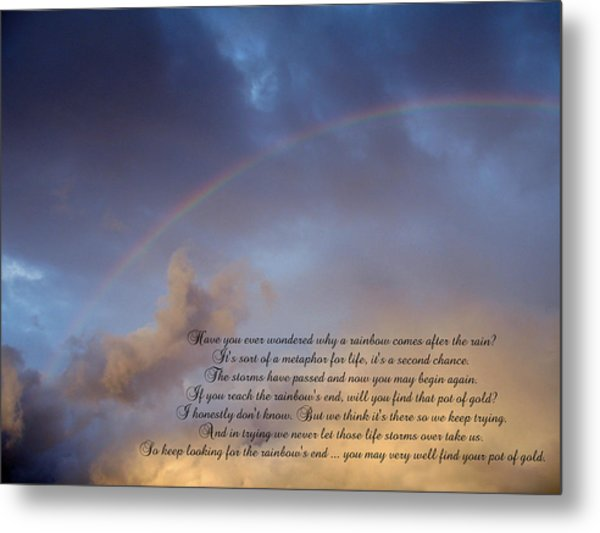 A Second Chance Metal Print by Ginger Howland