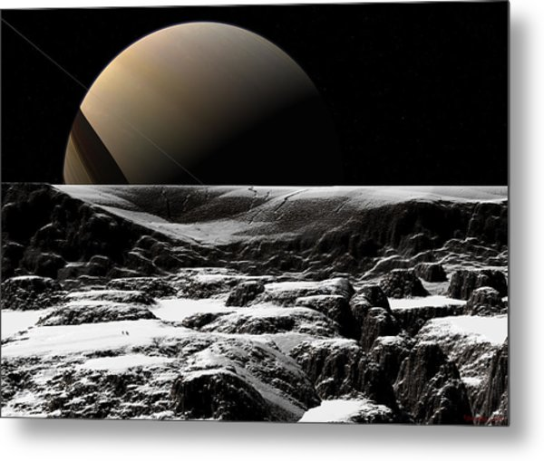 A Sense Of Scale  Metal Print