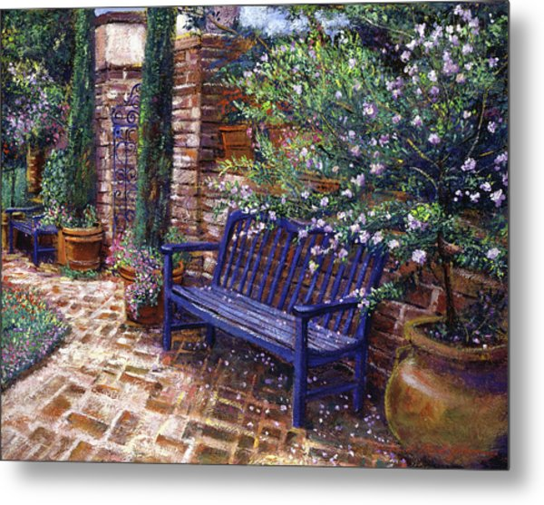 A Shady Resting Place Metal Print