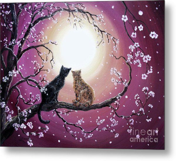 A Shared Moment Metal Print