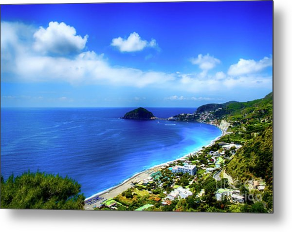 A Side Of Ischia Metal Print by Alessandro Giorgi Art Photography