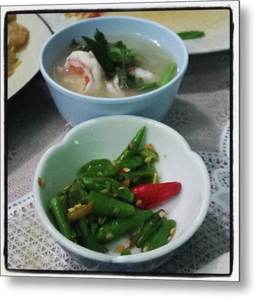 Metal Print featuring the photograph A Side Of Tom Yum Goon With Your by Mr Photojimsf