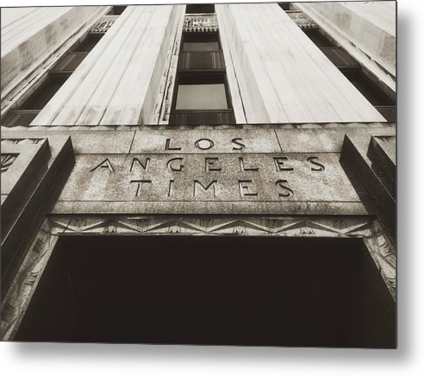 A Sign Of The Times - Vintage Metal Print