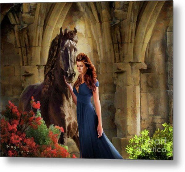 A Spanish Night Metal Print