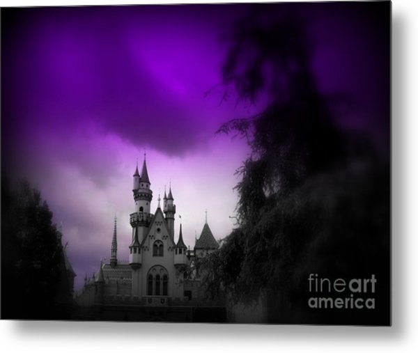 A Spell Cast Once Upon A Time Metal Print