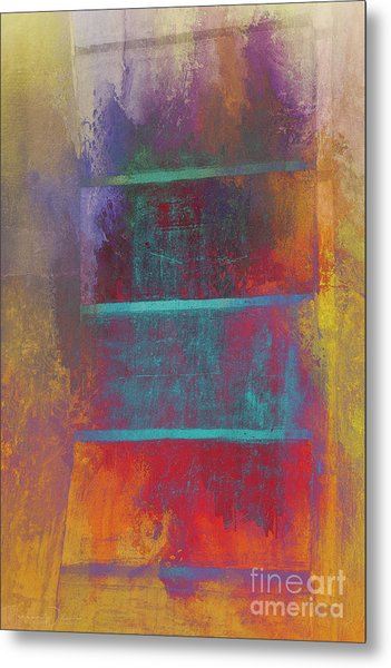 A Splash Of Color Metal Print
