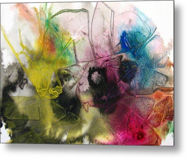 A Splash Of Color Metal Print