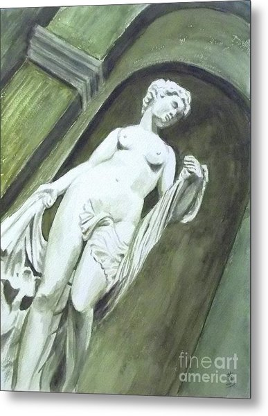 A Statue At The Toledo Art Museum - Ohio Metal Print