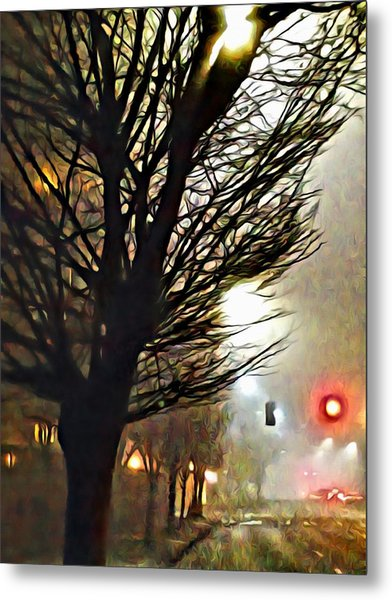 A Stop On My Journey Metal Print