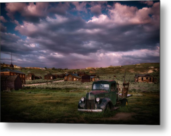 A Summer Evening In Bodie Metal Print