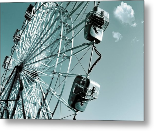 A Summer Ride Metal Print