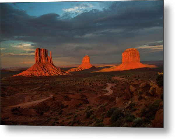 A Sunset To Remember Metal Print