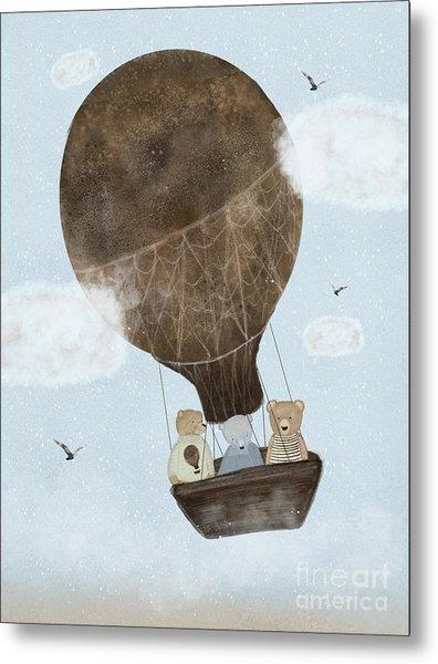 A Teddy Bear Adventure Metal Print