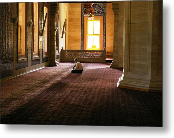 A Time For Prayer Metal Print by Don Prioleau
