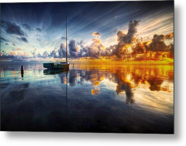 A Time For Reflection Metal Print by Mark Yugawa