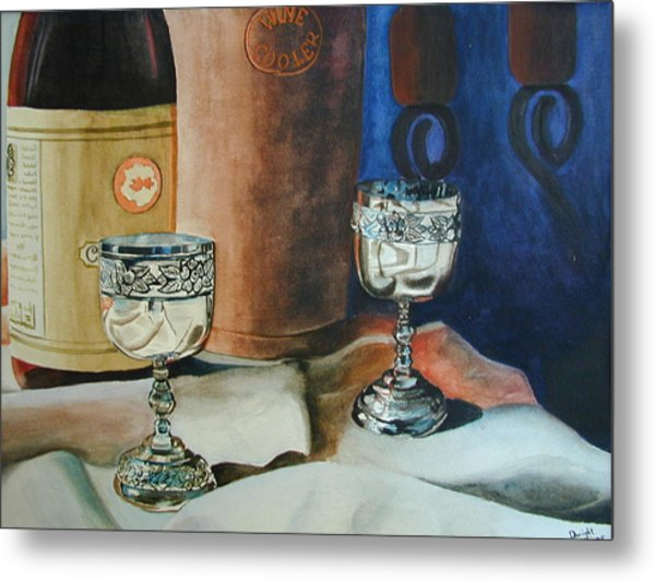 A Toast Metal Print by Dwight Williams