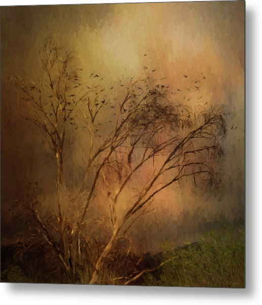 A Touch Of Autumn Metal Print