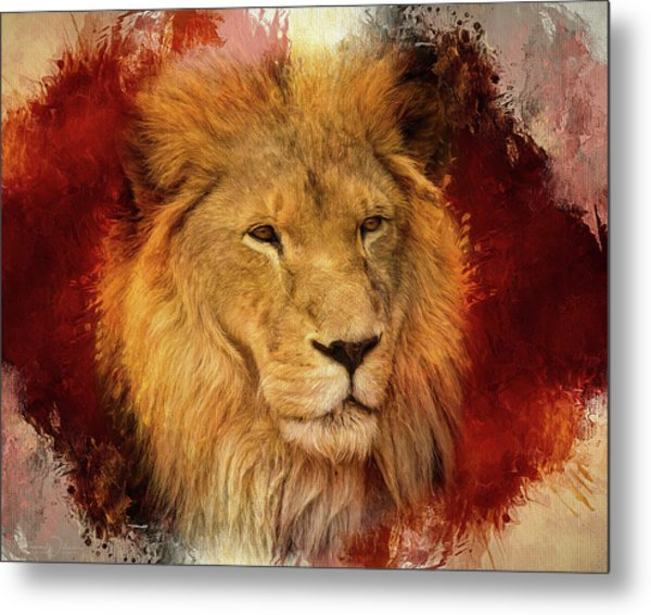 A Tribute To Asante Metal Print