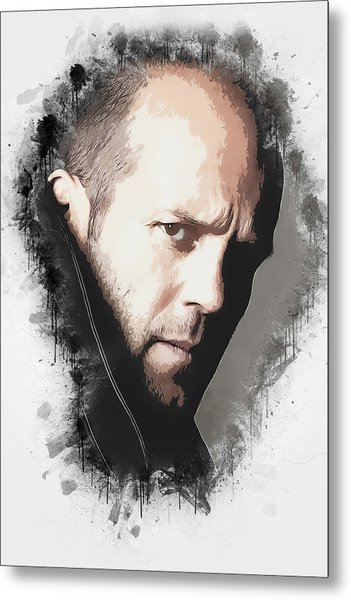 A Tribute To Jason Statham Metal Print