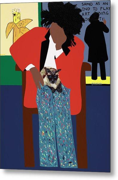 A Tribute To Jean-michel Basquiat Metal Print