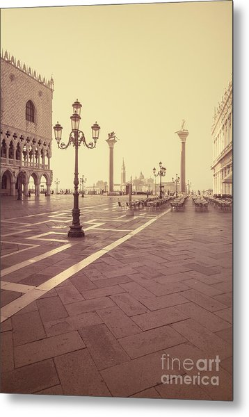 A Venice Morning Metal Print