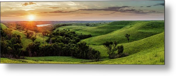 A View From A Favorite Spot Metal Print