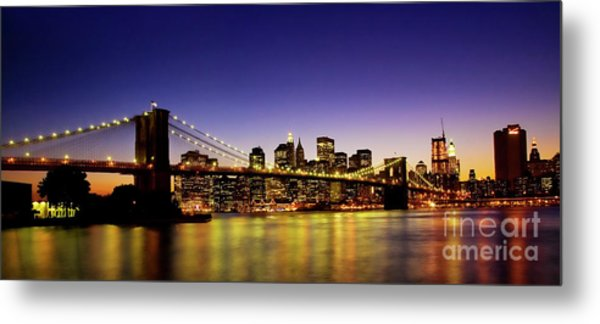 A View From Brooklyn Metal Print