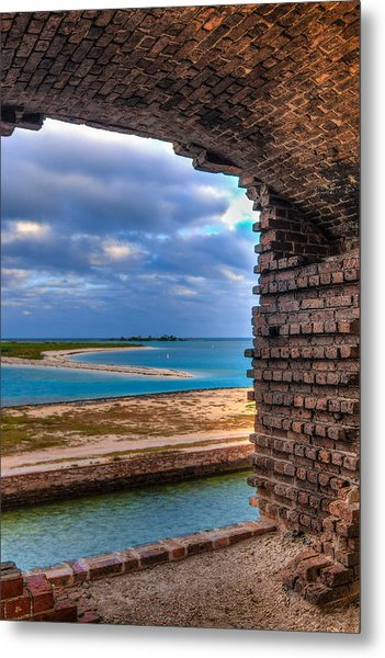 A View From Fort Jefferson - 2 Metal Print