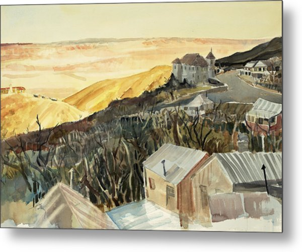A View From Jerome Metal Print