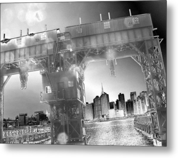 A View From Long Island City II Metal Print