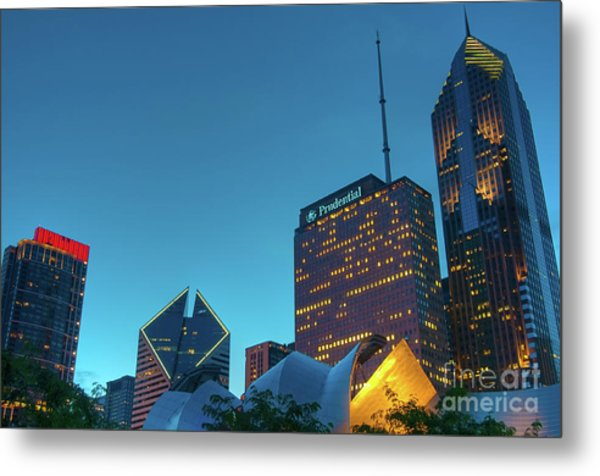 A View From Millenium Park Metal Print