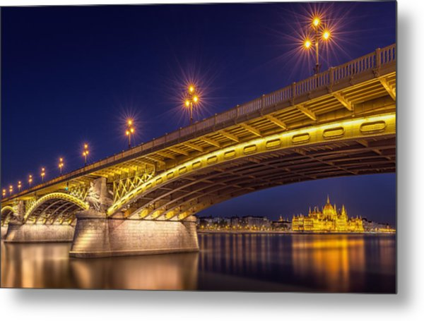A View Of Budapest Metal Print