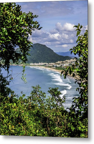 A View Of The Beach Metal Print