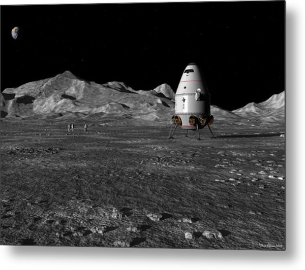 A Walk In The Apenninus Range Metal Print