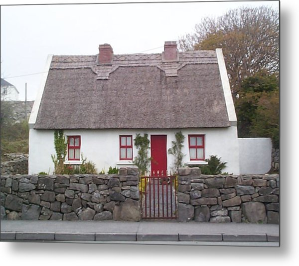 A Wee Small Cottage Metal Print