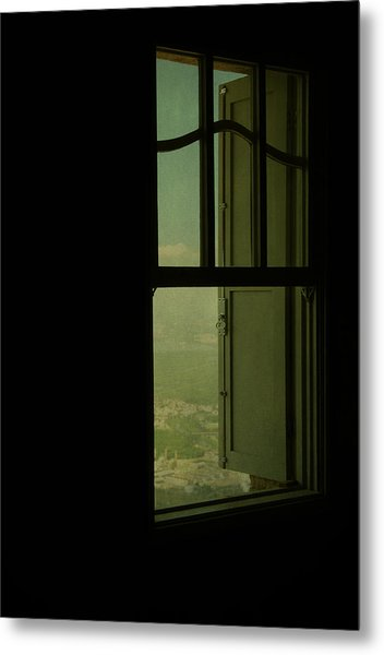 A Window Out To The Sea Metal Print by Valmir Ribeiro