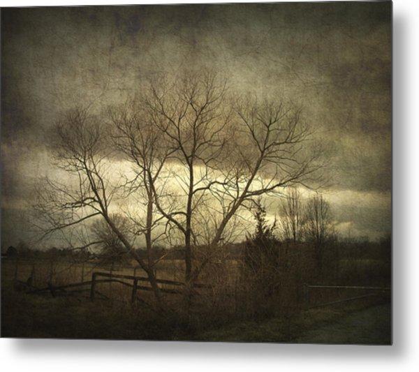 A Wyeth Landscape Metal Print