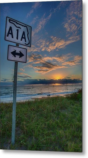 A1a Sunrise Metal Print