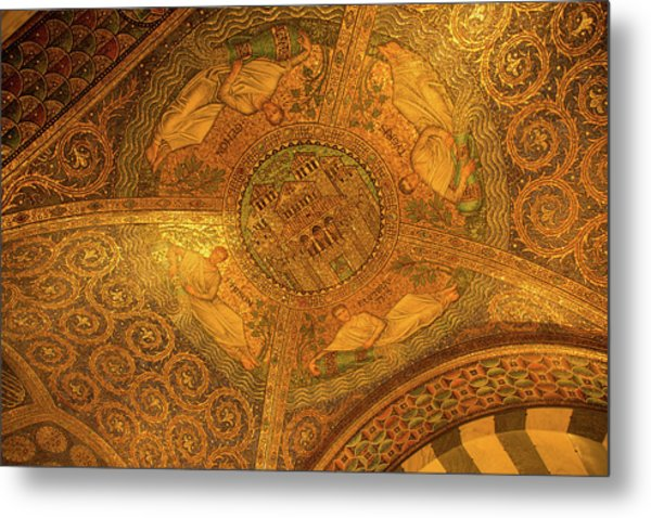 Aachen Cathedral Metal Print
