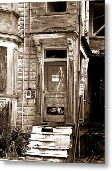 Abandoned 1 Metal Print by Melissa Wyatt