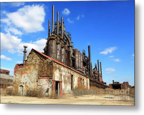 Abandoned Bethlehem Steel Metal Print